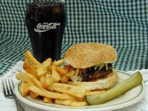 Ken's Kosher Diner- 3353 Dempster Street  Skokie, IL- BEST Veggie Burger (also have mashed sweet potatoes!)