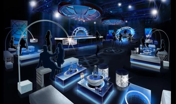 The Honest Group - Ciroc - Jet Set Tour - Design and Build -Event Activation Kit