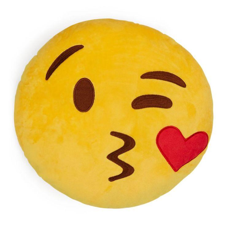 Throwboy Kissy Emoji Decorative Pillows