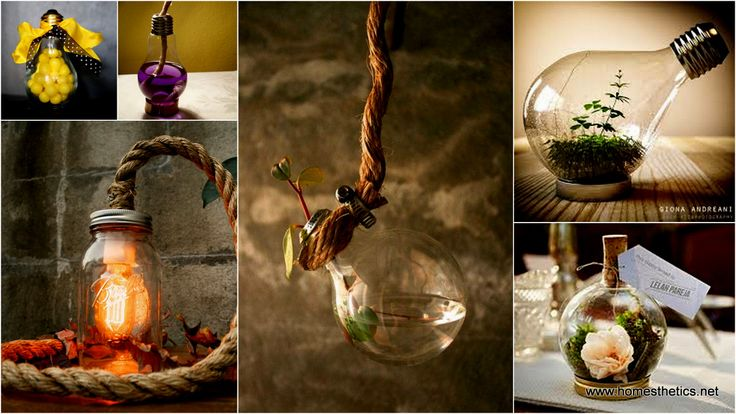 With these Beautiful Ideas On How To Decorate With Repurposed Light Bulbsyou will never want to throw an old light bulb again! We all know that once a light bulb is broken, it shouldn't be thrown away. If you wonder what can you do with […]