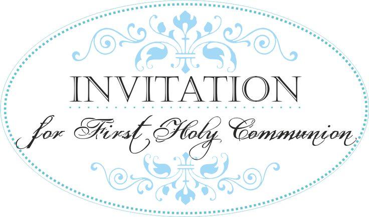 32 Invitation - Communion / Invitation - Holy Communion