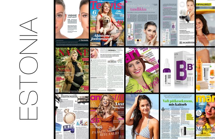pHformula has been featured continuously in global publications for their innovative, excellent, result  driven and award winning products and treatments. This week we feature the Estonian publications #Estonia #innovation #internationalawards