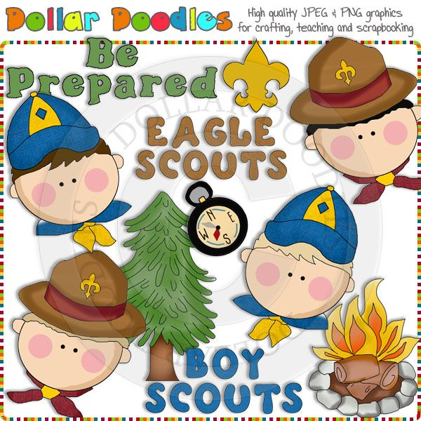 Scouting Boys Clip Art Download