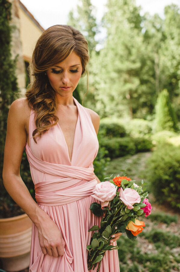 One Shoulder Dress For Bridesmaid Hairstyles Fashion Dresses