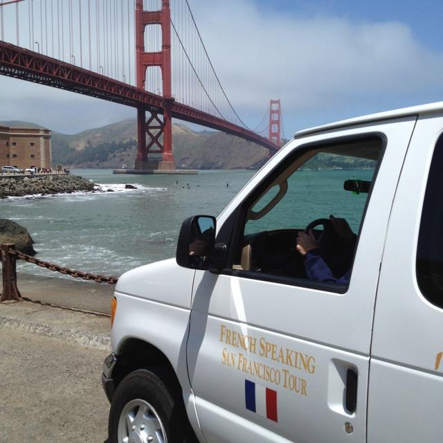 Cali'van @ Golden Gate Bridge