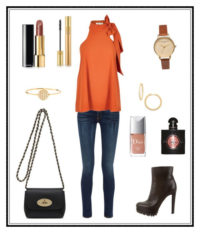 """""""#136"""" by e-elmedal on Polyvore featuring rag & bone, River Island, Sergio Rossi, Mulberry, Chanel, Olivia Burton, Nordstrom, AND, Yves Saint Laurent and Christian Dior"""