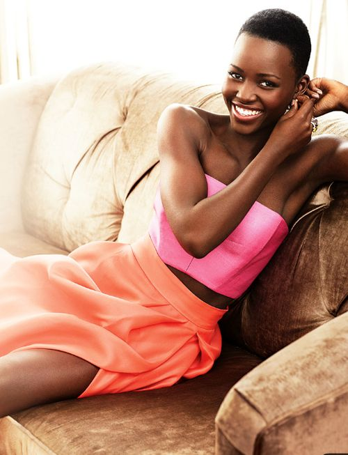 """❝ She's so lovely! ❞ """"It was exciting and just a major, major compliment…I was happy for all the girls who would see me on [it] and feel a little more seen."""" - Lupita Nyong'o on being named People Magazine's Most Beautiful"""