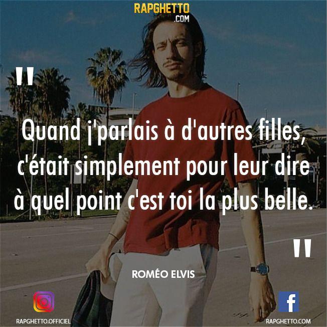 Punchlines Et Citations De Romeo Elvis In 2020 New Rap Rap Francais Rap