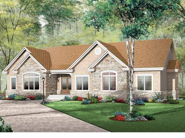 bungalow house plan with 1883 square feet and 3 bedrooms from dream home source house