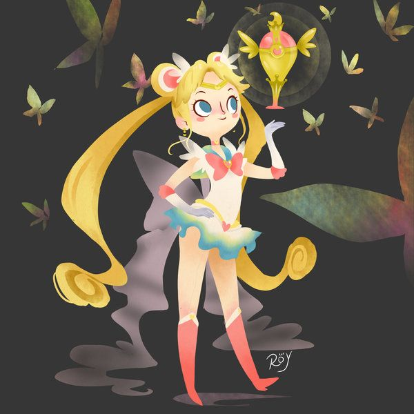Sailor Moon reached American audiences in 1995. Description from shyree.deviantart.com. I searched for this on bing.com/images
