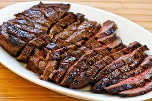 (Phase 1) Marinated Flank Steak (London Broil)