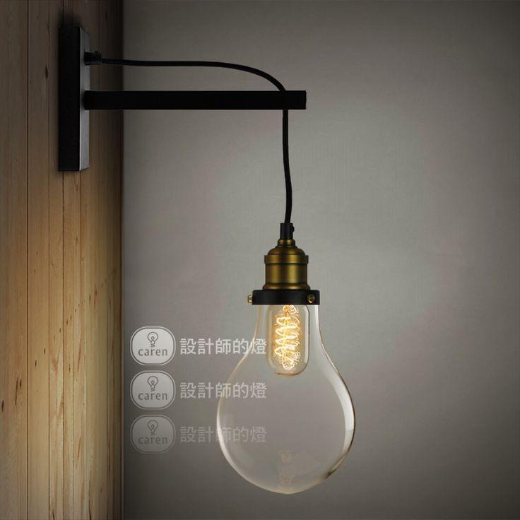 Alibaba グループ | AliExpress.comの 壁ランプ からの モデルなし。: 新しい到着のヴィンテージ電球形状壁のランプベッドルームベッドサイドウォールライトキッチンキャビネット壁のsconcesランプ電球電球ライトフィクスチャ材料: 鉄サイズ: ablowとしてショーの写真光源: e27*1( 光電 中の 新しい到着ヴィンテージ電球形状壁ランプ の寝室の ベッド サイド ウォール ライト キッチン キャビネット電球壁燭台電球ランプ照明器具