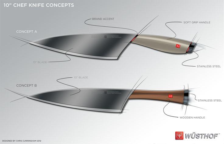 Chris Cunningham Sketches Knife 05  Sketching  Pinterest Pleasing Kitchen Knife Design Design Ideas