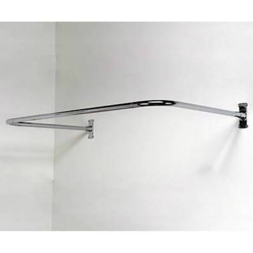 Barclay 4140 Cp U Shaped Shower Rod In Polished Chrome Finish