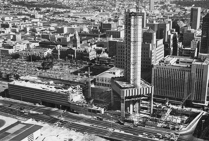 Golden Acre under construction - December 1977