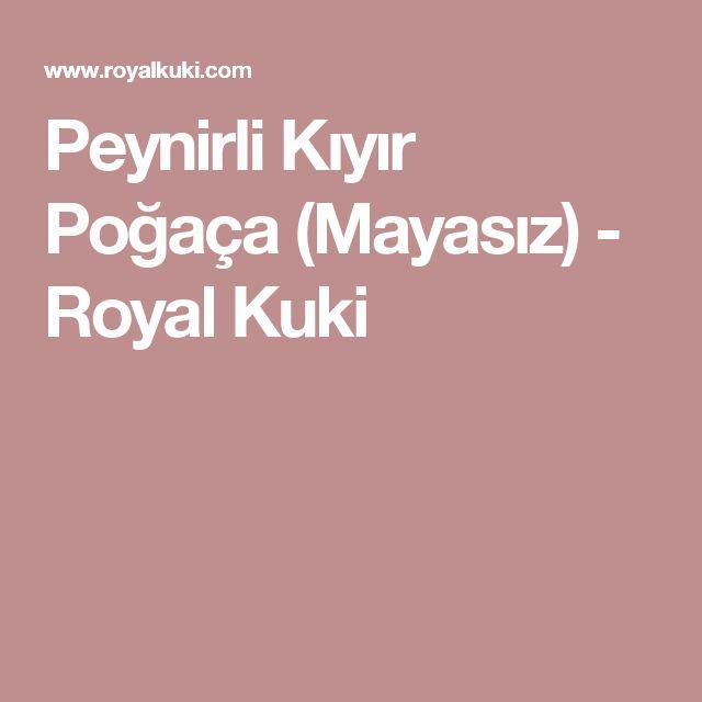 Peynirli Kıyır Poğaça (Mayasız) - Royal Kuki