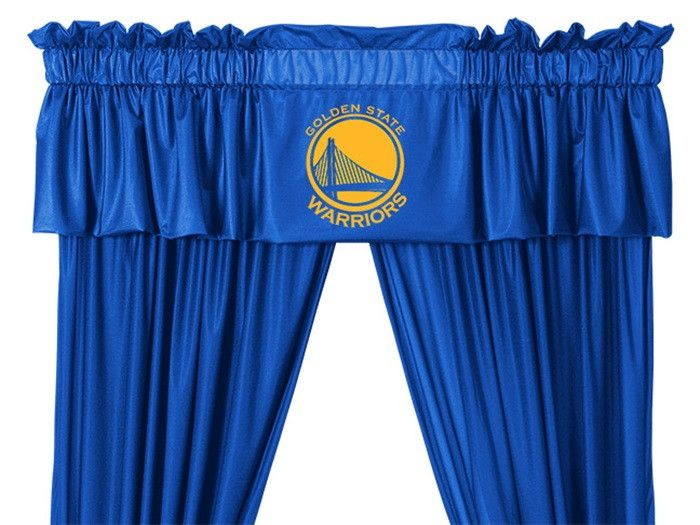 Use this Exclusive coupon code: PINFIVE to receive an additional 5% off the Golden State Warriors NBA Drapes and Valance at SportsFansPlus.com