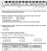 Matematicas 6ºde primaria. Cuadernilos de trabajo.