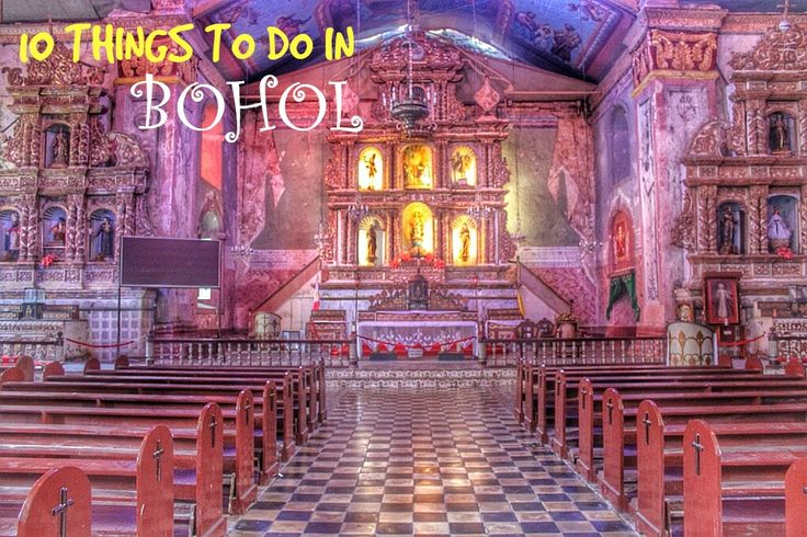 10 THINGS TO DO IN BOHOL