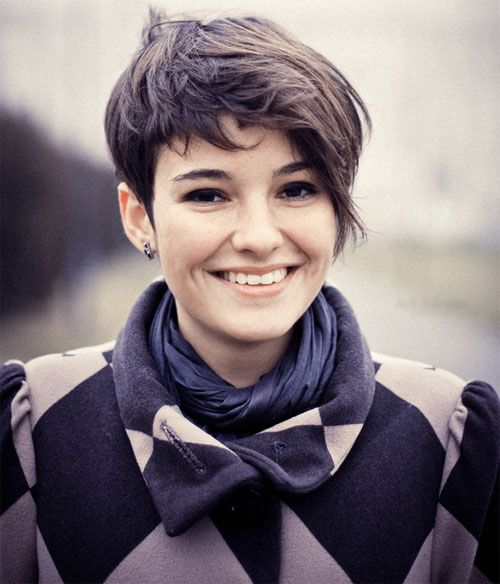 Best Pixie Cut Round Face Ideas On Pinterest Pixie Haircut - Haircut for round face pinterest