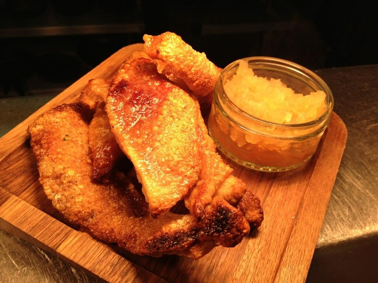 @FitzwilliamWest  Anyone for home made pork scratchings?