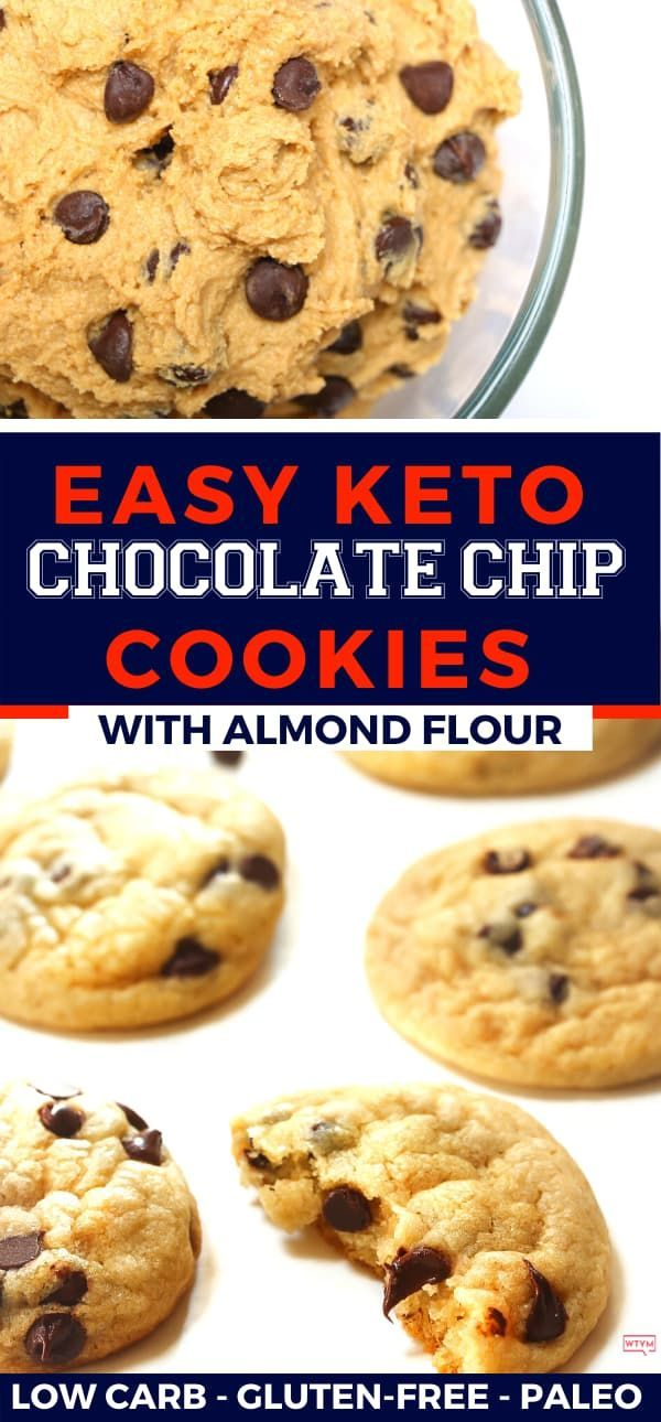 This Easy Keto Chocolate Chip Cookie Recipe Is The Ultimate