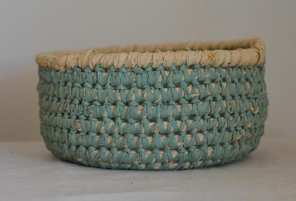 How To Weave A String Basket : Best diy images on crochet baskets