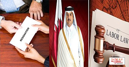 RULES FOR RESIGNING FROM A JOB IN QATAR