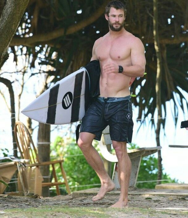 """That's what we call a """"Thor Body"""""""