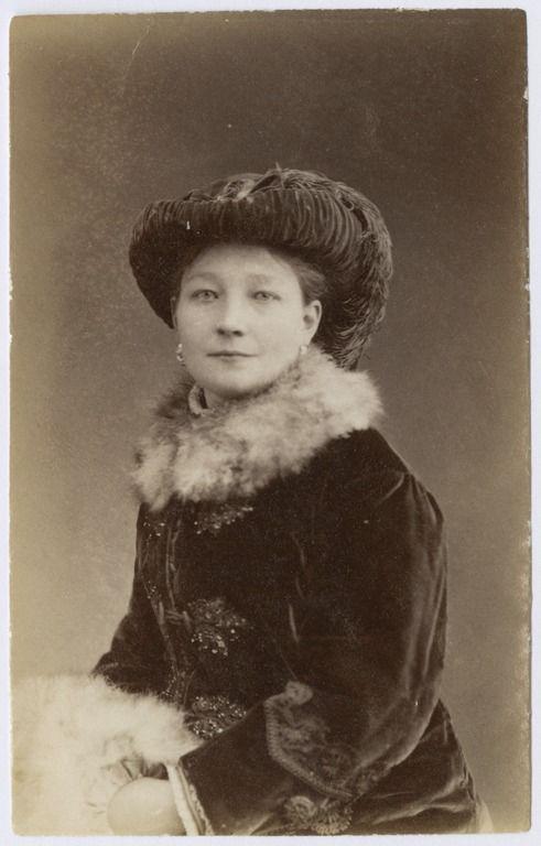 Walery Rzewuski, Portret Żanety Walewskiej (29 grudnia 1883)
