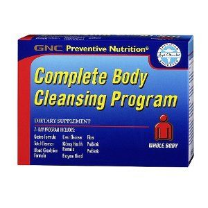 GNC Preventive Nutrition Complete Body Cleansing Program 1 Kit by GNC. $39.90. Preventive Nutrition? Complete Body Cleansing Program is a 7-day system designed to support overall wellness and digestive health. Each AM Formula packet contains a Gastro Formula, Total Cleanser and Enzyme Blend. This packet combines specialized herbs such as ginger, articoke and pomegranate. * These statements have not been evaluated by the Food and Drug Administration. This product is not intended t...
