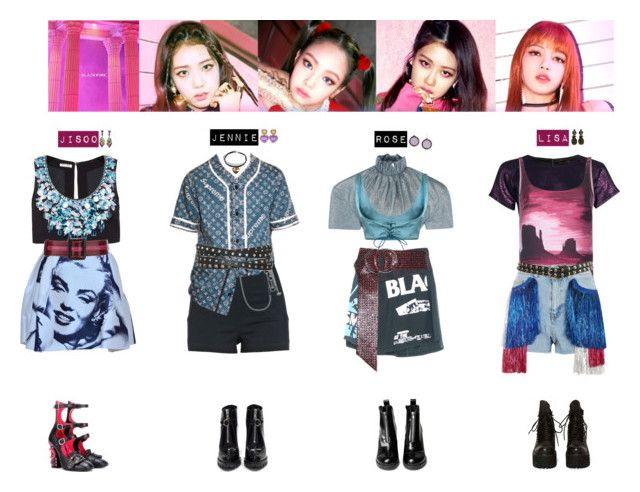"""Blackpink Outfit Ideas: AS IF IT'S YOUR LAST ️"""" By Vvvan99 Liked On"""