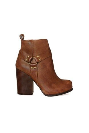 Rum Moto Boot Brown JEFFREY CAMPBELL