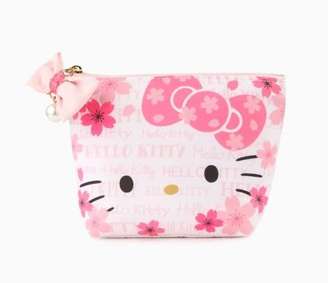 Hello Kitty Compact Pouch: Cherry Blossom