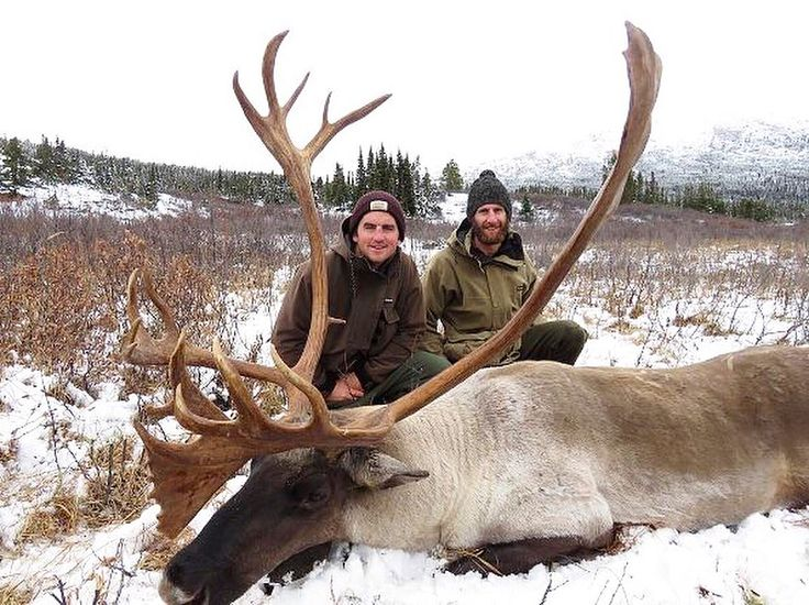 Recent mountain caribou hunt with our guide, North River Outfitting in British Columbia, Canada. Go check out our website for more information about them!