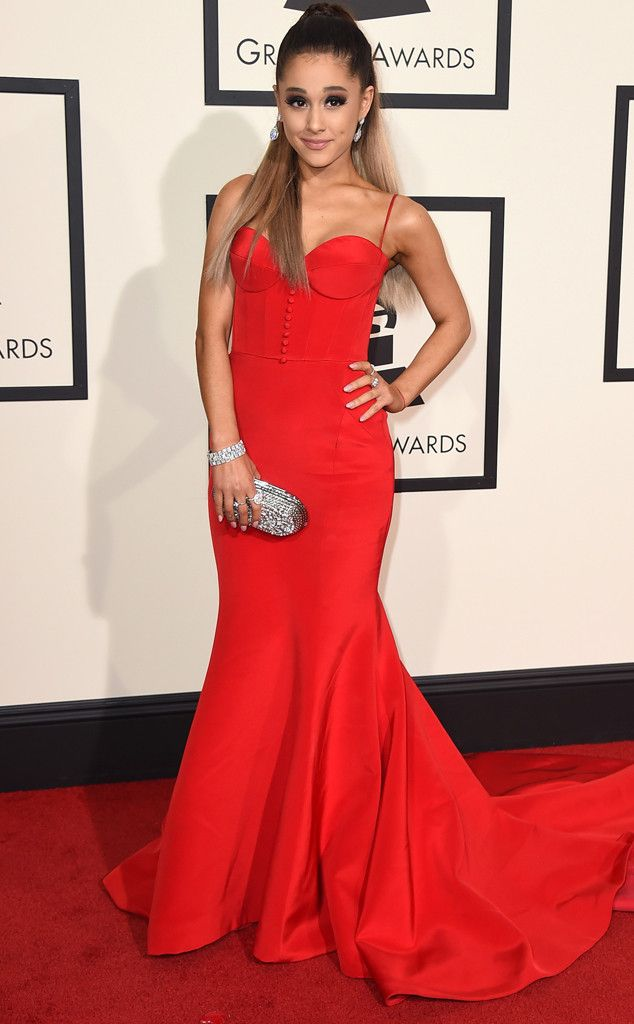 Ariana Grande from Grammys 2016: Red Carpet Arrivals | E! Online