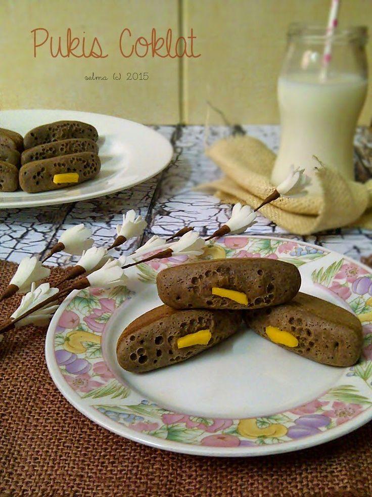 Dapur Comel Selma Pukis Coklat Coklat, Resep, Labu