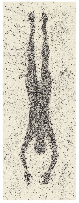 Anthony Gormley, Bodies in Space, Drawing 2011