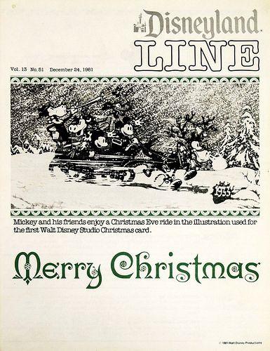Disneyland Line, December 24, 1981 | Tom Simpson | Flickr
