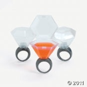 Wedding Ring Shot Glass - well, these are freaking awesome...i love that they have a lid, i will have mine to go