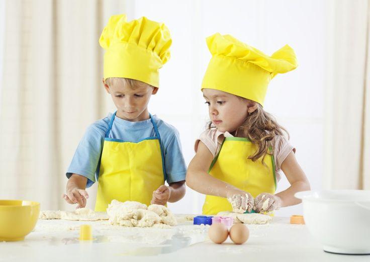 ¡Cocinar siempre es divertido! Fotogalería de actividades para vacaciones enTodobebé