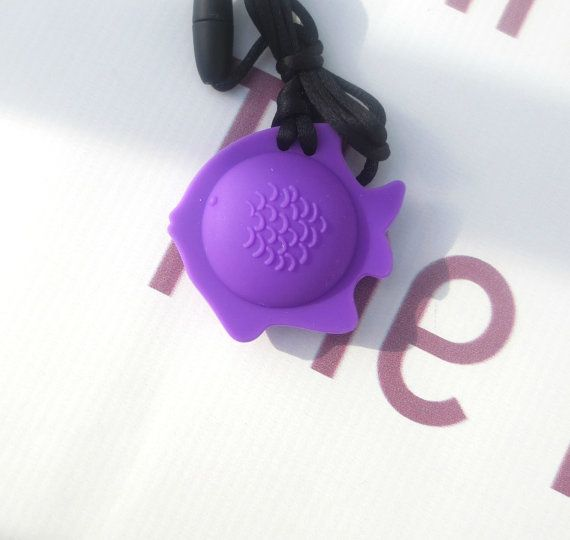 Fish Food Grade Silicone Necklace Teething Necklace Silicone Teething