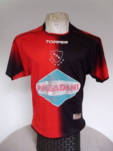 Camiseta Newells Old Boys Topper 2007 Paladini Talle S / M - $ 220,00