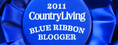 Country Living Blue Ribbon Blogger Awards | Just Something I Made