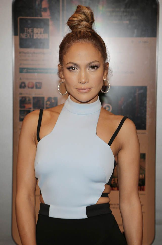 Jennifer Lopez's bra stra dress Lainey Gossip Entertainment Update