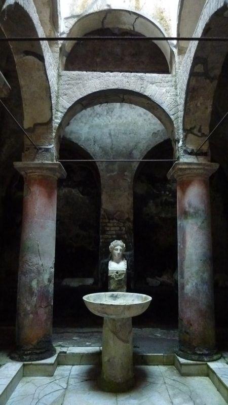 Herculaneum Baths Italy