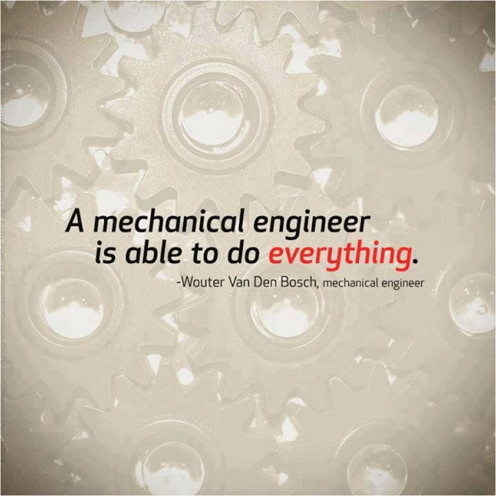 Mechanical Engineers Rock.