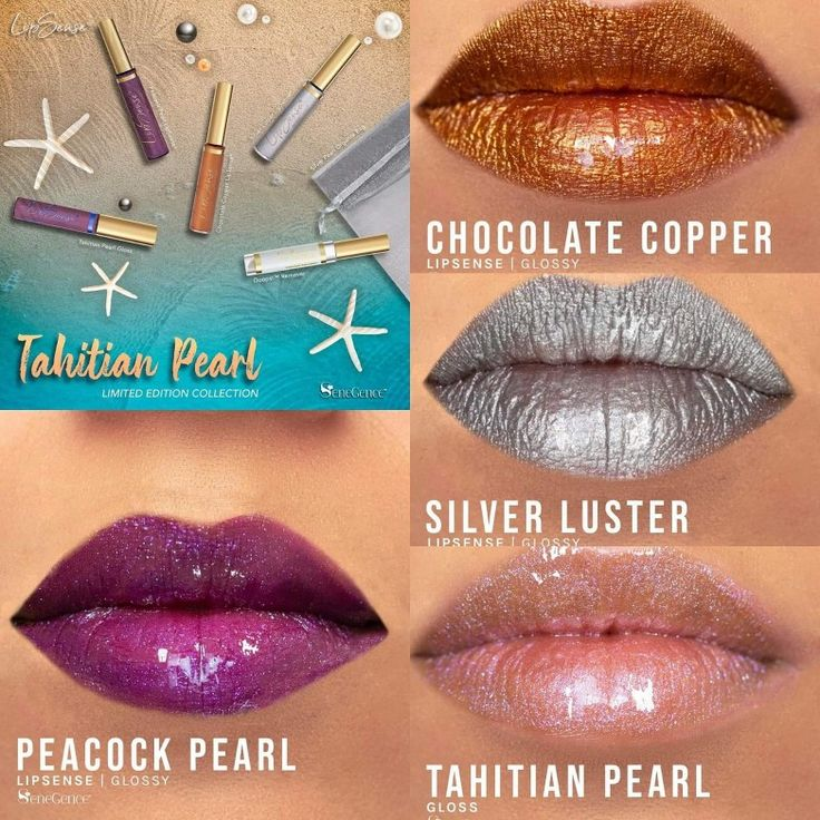Our limited edition LipSense® Tahitian Pearl Collection