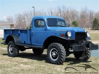 1946 Dodge Power Wagon For Sale In Cleveland Ohio