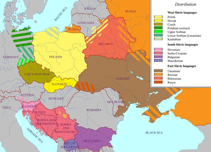 Best Language Maps Images On Pinterest History Language And - World map in czech language